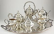 Durgin Sterling Silver Tea & Coffee Service
