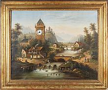 Continental Picture Clock