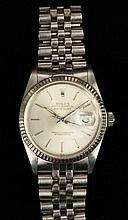 Gent's Stainless Steel Datejust Watch, Rolex