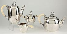 Danish Sterling Silver Tea & Coffee Service