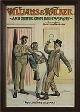 Bert Williams and George Walker Show Poster