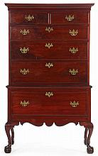 Pennsylvania Chippendale Highboy