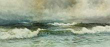 George Howell Gay (NY, 1858-1931), Seascape