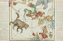 Ignace Gaston Pardies, Celestial Map