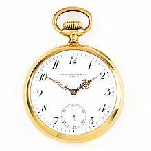 18KT Gold Pocket Watch, Patek Philippe