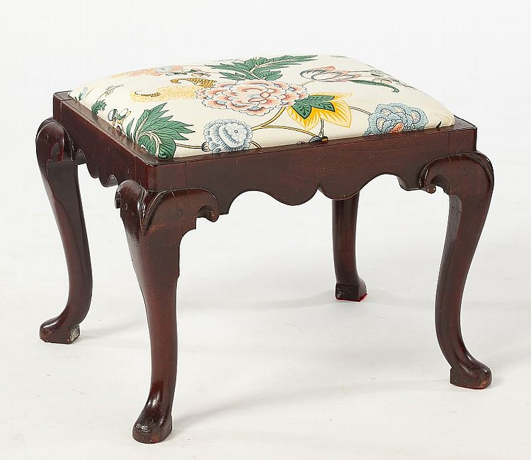 Queen Anne Style Footstool