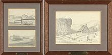 Edouard Marquis (French), Three VA Sketches