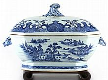 Chinese Canton Lidded Tureen