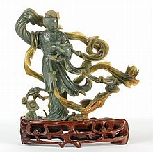Chinese Spinach Jade Carving