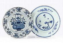 Two Chinese Porcelain Chargers