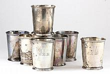Set of Eight S. Kirk & Son Sterling Mint Juleps