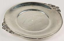 Gorham Sterling Silver Trophy Tray