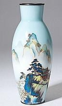 Ando Jubei Cloisonne Vase