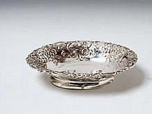 A Berlin silver sweets dish. Monogrammed