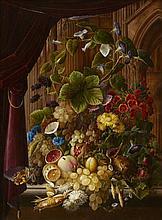 Ernst Sager, A Large Floral Still Life