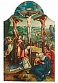 NETHERLANDISH SCHOOLMid 16th century, THE CRUCIFIXION OF CHRIST