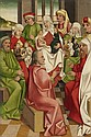 TYROLEAN SCHOOL, circa 1500, ADORATION OF THE MAGI  HOLY KINSHIP