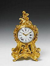 A Parisian ormolu époque Louis XV pendulum clock.