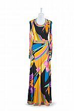 A Leonard Long Dress,  1970s