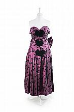 An Elisabeth Wessel Evening Dress,