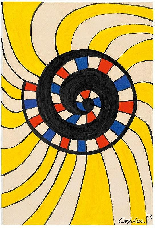 ALEXANDER CALDER, Untitled (Good Luck), 1973