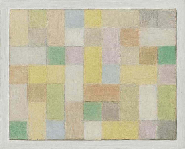 ANTONIO CALDERARA, Rettangoli e quadrati, 1959