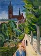 ERNST WILHELM NAY,  Kirche, 1925