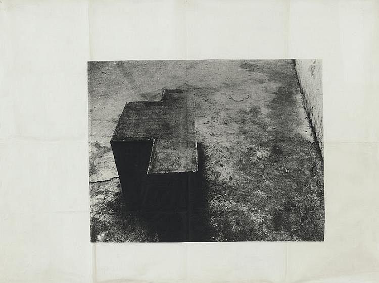 JOSEPH BEUYS, Vakuum-Masse (vacuum-mass), 1970