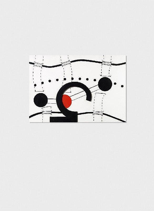 PETER BRÜNING, Nr. 11/69 (Umleitung auf Baumzeichen), 1969