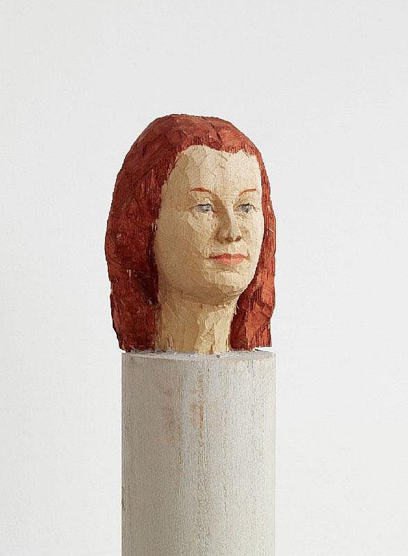 STEPHAN BALKENHOL, Untitled, 1991