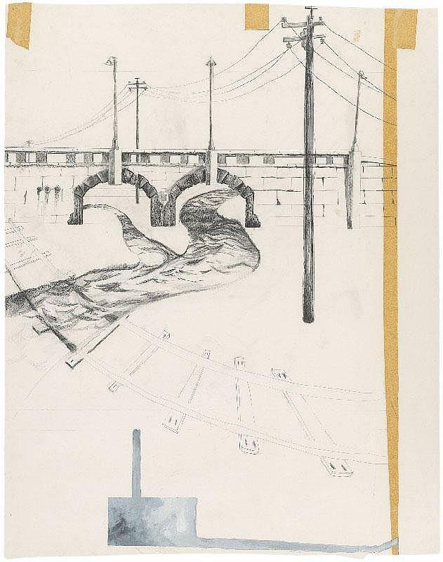 EDGAR ARCENEAUX, Ohne Titel (Overpass), 2001