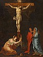 FRENCH SCHOOL, CRUCIFIXION OF CHRIST, 91.5 x 67.5