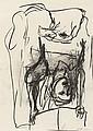 GEORG BASELITZ, Untitled (aus der Serie: Strassenbild), 1979
