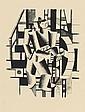 FERNAND LÉGER, Composition aux deux Personnages, 1920