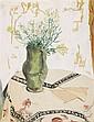 ERICH HECKEL, Vase mit Leinkraut, 1934
