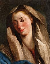 Giovanni Domenico Tiepolo, The Virgin Mary