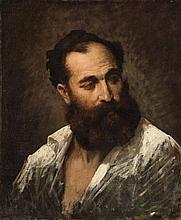 French School 2nd half 19th century, Portrait of a Man