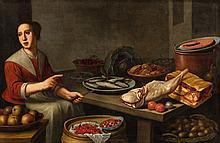 Floris van Schooten, A Kitchen Still Life