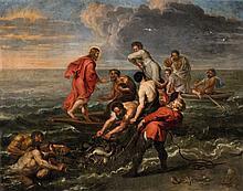 Flemish School 17th century, The Calling of Saint Peter