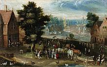 Flemish School 17th century, Cartwright and Cart