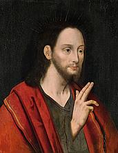 Flemish School 16th century, Christ Blessing