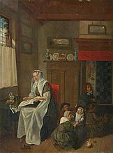 Netherlandish School 18th century, A Kitchen Interior
