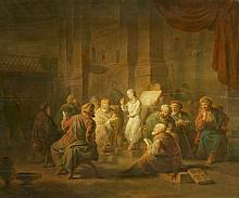 Probably French School 18th century, Christ Among the Doctors