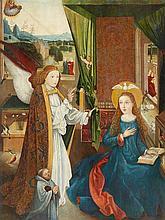 Probably South German School ca. 1500, The Annunciation