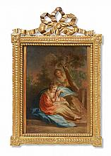 Probably South German School 18th century, The Holy Family