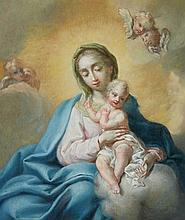 South German School 18th century, The Virgin and Child with Putti