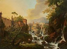 German School 19th century, A View of Tivoli
