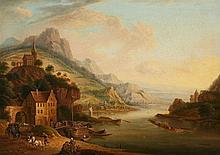 German Master 18th century, Rhenish Landscape