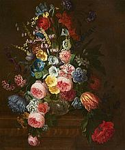 Netherlandish School 18th century, Floral Still Life