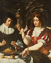 Abraham Janssens, circle of, Allegory of Taste